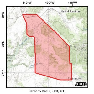 Paradox Basin, (CO, UT)