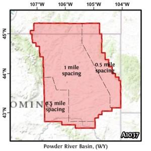 Powder River Basin, (WY)