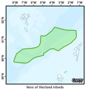 West of Shetland Islands