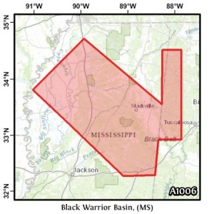 Black Warrior Basin, (MS)