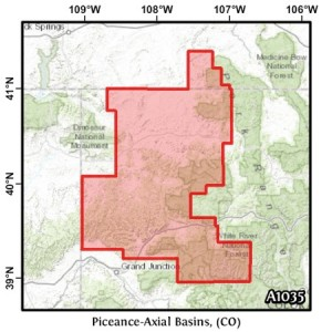 Piceance-Axial Basins, (CO)