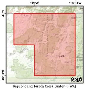 Republic and Toroda Creek Grabens, (WA)