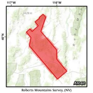 Roberts Mountains Survey, (NV)