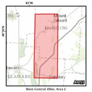 West-Central Ohio, Area C