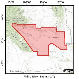 Wind River Basin, (WY)
